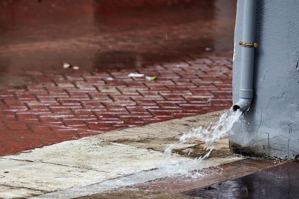 Commercial Downspout Repair